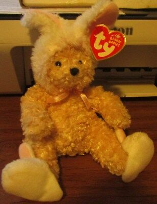 "Beanie Baby-""skips"" Easter Bunny Beanie 2006 Ty Store Exclusive  Free Shipping"