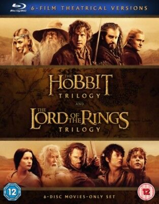 Mittelerde Collection - der Hobbit Trilogie & The Lord Of Rings Blau