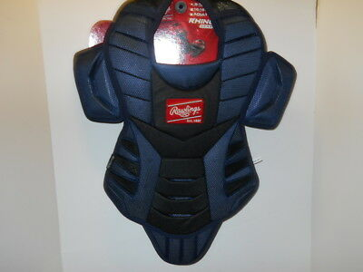 Rawlings Rhino Series Youth 9-12 Catchers Chest Protector Rnocpy - Navy Blue