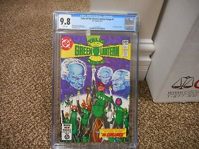 Tales of the Green Lantern Corps 1 cgc 9.8 1st appearance of Arisia DC 1981 MINT