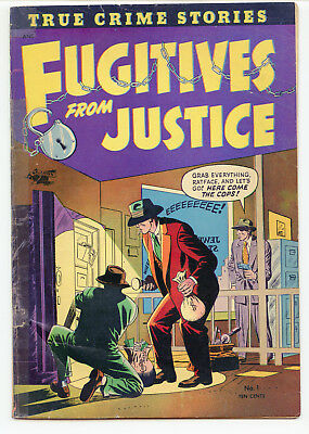 JERRY WEIST ESTATE: FUGITIVES FROM JUSTICE #1 (St. John 1952) NO RES