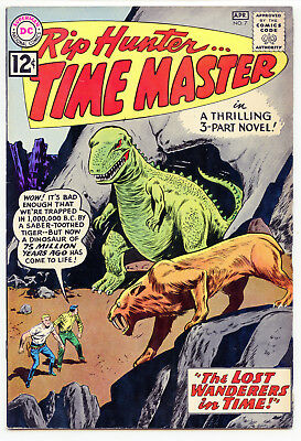 JERRY WEIST ESTATE: RIP HUNTER… TIME MASTER #7 (DC 1962) VF condition! NO RES