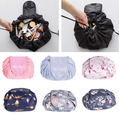 Magic Portable Makeup Drawstring Bags Large Storage Travel Pouch Cosmetic Bag