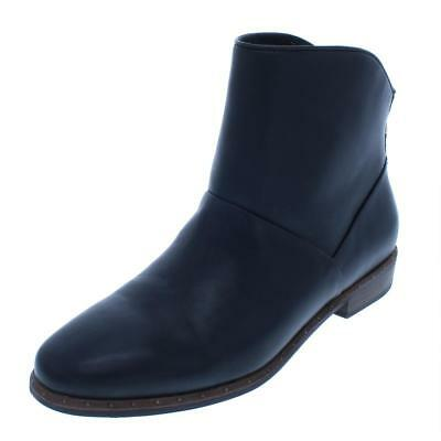 8d3c397e69b UGG WOMENS ELORA Leather Block Heel Ankle Booties Shoes BHFO 6006 ...