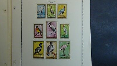 Burundi Stamp collection on Scott Specialty pages to '73 w/ 163 or so stamps