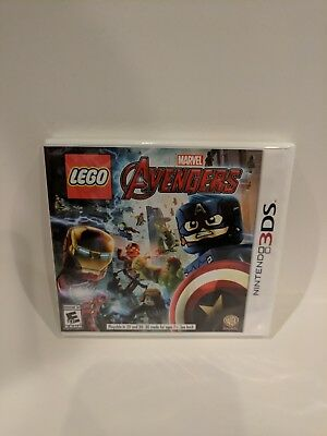 Nintendo 3Ds Game Lego Marvel Avengers Brand New And Sealed