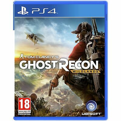 Tom Clancy's Ghost Recon: Wildlands Sony Playstation PS4 Game 18+ Years