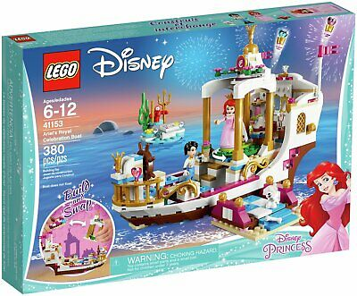 LEGO Disney Princess Ariel Royal Celebration Boat Toy - 41153.
