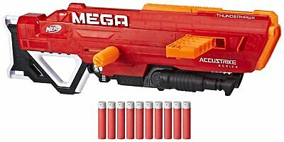 Nerf N-Strike Mega AccuStrike Series Thunderhawk 8+ Years Indoor/Outdoor