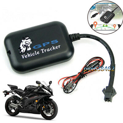Mini Motorcycle Car Vehicle GPS GSM Tracker Real Time Monitor Tracking Locator