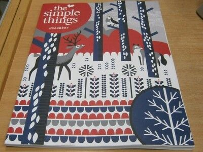 The Simple Things magazine #78 Dec 2018 Nibbles & Drinks, Panto Good Books &more