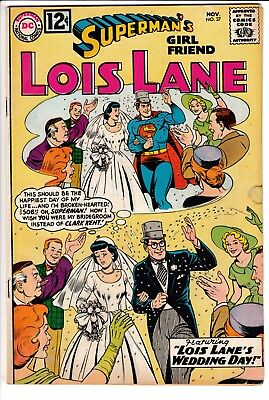 SUPERMAN'S GIRL FRIEND LOIS LANE #37, DC Comics (1962)