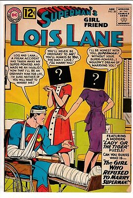 SUPERMAN'S GIRL FRIEND LOIS LANE #38, DC Comics (1963)