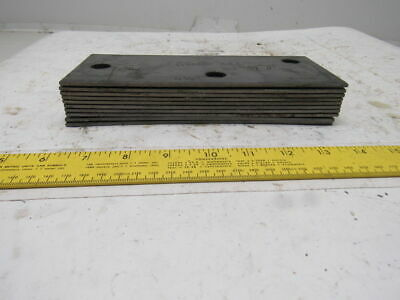 """8-3/8"""" x 3-1/2"""" 1/8"""" Thick Floor Shim Conveyor Machine Level See Info Lot Of 10"""