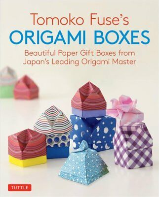 Tomoko Fuse's Origami Boxes: 30 Projects Beautiful Paper Gift B... 9780804850063