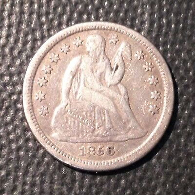 1856-O   VF-XF    Liberty Seated Dime   Nice Coin