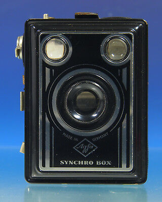 Agfa Synchro Box 6x9 Boxcamera box camera vintage Photographica - (201522)