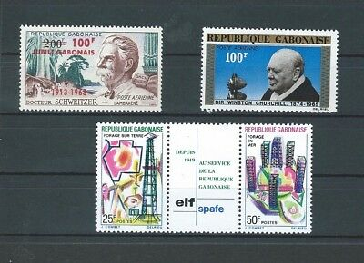 Gabon 3 Issues from 1963 - 1969 (See Below for Details)