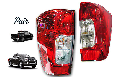 Nissan Navara NP300 Pickup Truck Rear Tail Light Lamp 2016-2017 Pair 2 PC M96M97