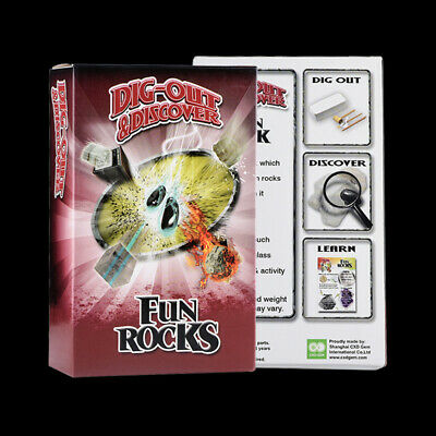 Rock Crystal Excavation Dig Kit Discover Mineral Mine Education Toys for Child