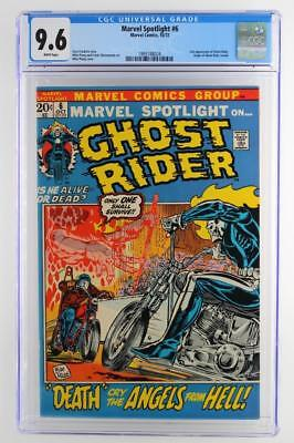 Marvel Spotlight #6 -NEAR MINT- CGC 9.6 NM+ Marvel 1972 - 2nd App of Ghost Rider