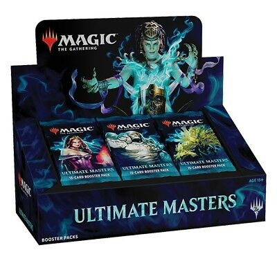 MAGIC PREORDER Ultimate Masters Booster Box FACTORY SEALED MTG