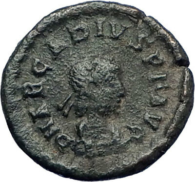 ARCADIUS 383AD Authentic Genuine Ancient Roman Coin Victory Nike Angel i73688