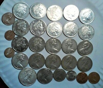 Australia, New Zealand Lot Of 29 Coins All Nice