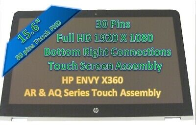"""NEW HP ENVY X360 M6-AQ105DX 15.6"""" FHD LCD LED Touch Screen Assembly"""