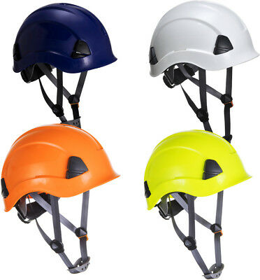Portwest PS53 Safety Helmet Hard Hat Scaffolding Work at Height Climbing EN50365