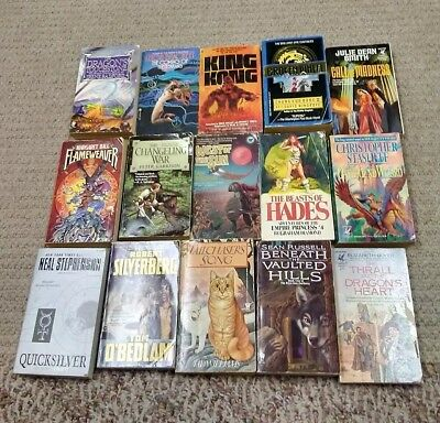 FANTASY /SCIENCE FICTION lot of 20 paperbacks