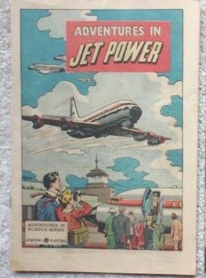 ADVENTURES IN JET POWER ~ GE ~ General Electric ~ comic book ~ Air Force ~ 1961