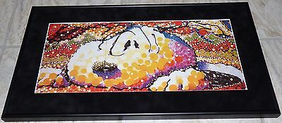 Tom Everhart Snoopy I Think I Might Be Sinking Framed Print  Charles Schulz