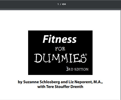 Fitness For Dummies 3rd Edition PDF EB00K Fast Email delivery