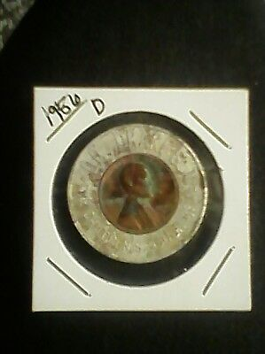 Dr. Drake's Cough Syrup - Encased 1955-D Wheat Penny
