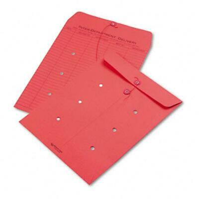 Quality Park 63574 Colored Paper String & Button Interoffice Envelope 10 x 13...