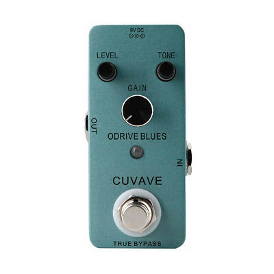 New Overdrive Guitar Effect Pedal True Bypass Metal Shell Great Gift MINI F4U2
