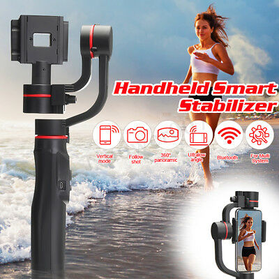 Smooth 4 3-Axis Handheld Gimbal Gopro Stabilizer For Smartphones iPhone New