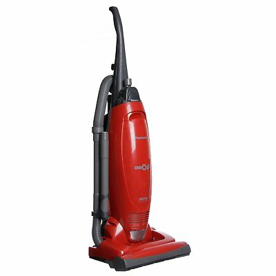 Panasonic Red Vaccuum Bagged Upright Upright Corded Clean Pet Friendly New Motor