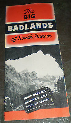 Badlands Region, S.D., Promotional Brochure (circa 1940s)