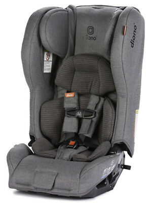 Diono Rainier 2 AXT Convertible Child Safety Car Seat + Booster 2019 Grey Wool