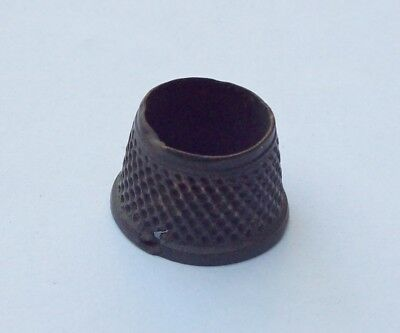 Nice Open Top Thimble 1700's Detecting Find