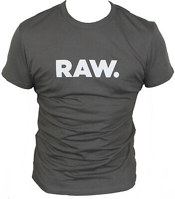New G-Star Raw Mens T-Shirt Round Neck in Grey Colour Size M