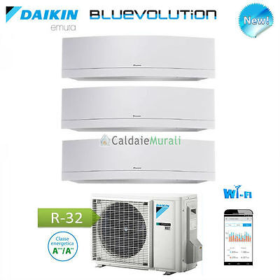 Conditionneur D'Air Daikin Trial Emura Blanc Wifi Bluevolution 7 +9 +12 +