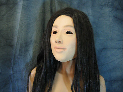 Rubber Mask LILLY - Female Latex Face Mask Crossdresser Transgender Sissy TGirl
