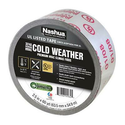 Berry Plastics Premium HVAC Cold Weather Silver Foil Tape 2.5 in.x60 Yd