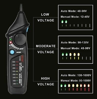 Bside AVD06 Non-Contact Voltage Detector Electric Power Socket Outlet AC ... New