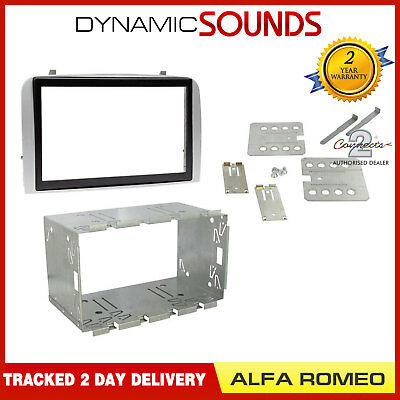 Connects2 Alfa Romeo GT 2005 On Car Stereo Double DIN Fascia Facia Plates Kit
