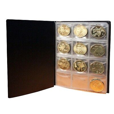 Applied 120 Coin Holder Collection Storage Penny Money World Coin Pocket Plastic