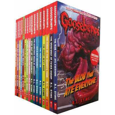 R L Stine Goosebumps Classic Series 18 Books Collection Set Paperback New